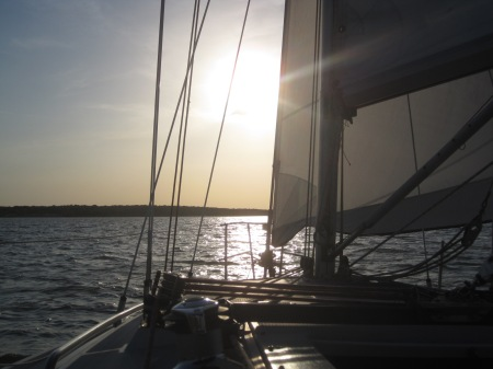 This has been a summer full of sailing on Lake Grapevine !
